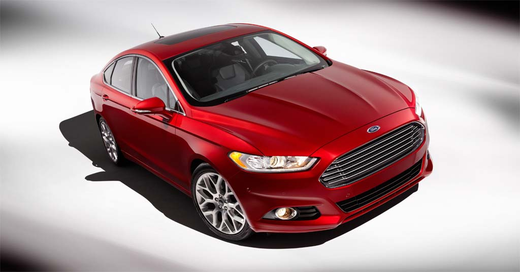 2013 Ford Fusion, an IIHS 'Top Safety Pick+' Award Winner