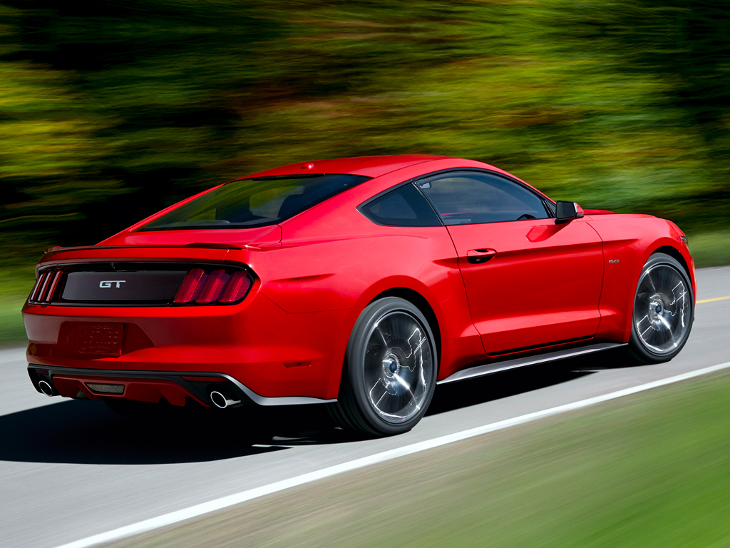 The much anticipated 2015 Ford Mustang