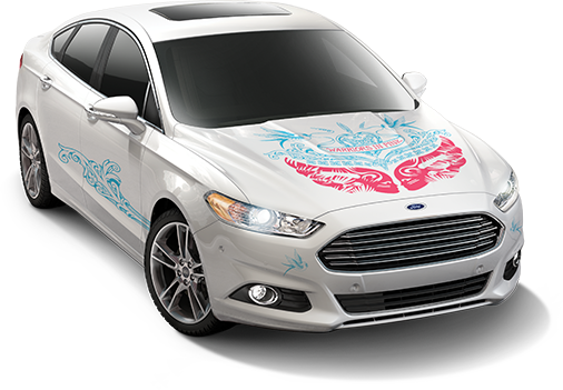 2014 Ford Warriors in Pink Fusion