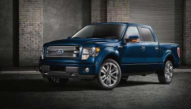 Military families own more Ford F-150s than any other vehicle.